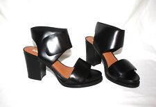 &Other Stories Black Heeled Leather Sandals, Size 41