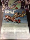Vintage 1974 Rc Come Fly With Royal Airplane Catalog 🇺🇸USA Shipped