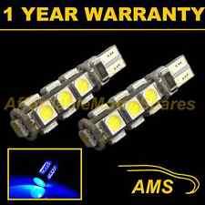 2x W5W T10 501 Errore Canbus libero BLU 13 LED INTERNI CORTESIA LAMPADINE il101801