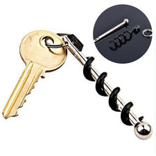 1Pc Portable Pocket Red Wine Bottle Cap Opener Keychain Keyring Acces Gifts