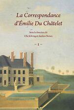 Correspondance d'Émilie Du Châtelet
