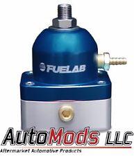 Fuelab Fuel Pressure Regulator adjustable FPR -10 in out Fuel Lab Blue 51501