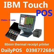 IBM Touch Screen POS System Cafe Takeaway  heavy duty POS Restaurant Jl