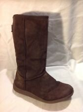 Rocket Dog Brown Mid Calf Suede Boots Size 6