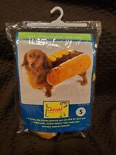 "Halloween Dog Costume ""Hot Diggity dog"" SIZE SMALL. Hot dog, dog, puppy."