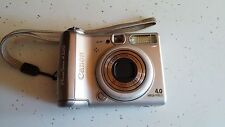 Canon PowerShot A520 4.0 MP Digital Camera - Silver
