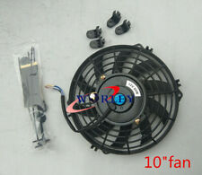 For 10 inch 12 V Thermo Radiator FAN Electric Cooling Fan & Mounting Kits