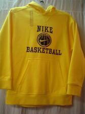 Nike NWT Youth Basketball Athletic Yellow Hoodie Sweatshirt Pullover M 10 12