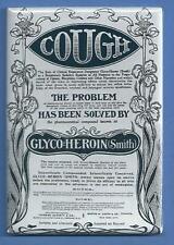 HEROIN ADVERTISEMENT *2X3 FRIDGE MAGNET* MEDICINE COUGH SYRUP ANTIQUE VINTAGE AD
