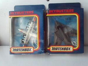 Matchbox Skybusters SB-34/36 Lockheed C-130 Hercules, F-117A Stealth MIB Job Lot