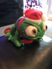 Official Walt Disney Store Tangled Christmas Pascal the Chameleon Soft Toy Bnwt