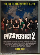 Cinema Poster: PITCH PERFECT 2 2015 (Main One Sheet) Anna Kendrick Rebel Wilson