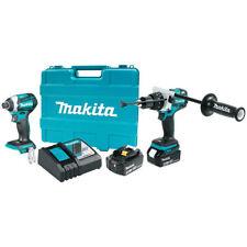 Makita 18V LXT Lithium-Ion Brushless Cordless 2-Piece Combo Kit (Hammer...