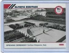 2014 TOPPS OLYMPIC OPENING CEREMONY / HERITAGE CARD OH-7 ~ 1956 CORTINA ITALY