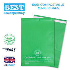 Eco Friendly Compostable Mailer Bags Corn Starch (9x12in 23x31cm) FREE DELIVERY