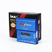 80W iMAX B6AC Dual Power Lipo Ni-Cd NiMH RC Battery Balance Charger Discharger F