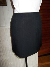 Jupe courte droite polyester noir COMPTOIR DES COTONNIERS modèle RACINE 36/38