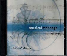 MUSICAL MASSAGE - SYNERGY - THE ATLANTIC ARTS ENSEMBLE- MINT  CD