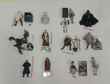 Star wars collection job lot of 12 which all appear complete (F)