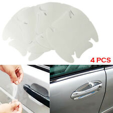 4x Auto Car Door Handle Paint Scratch Protector Film Stickers Transparent Clear