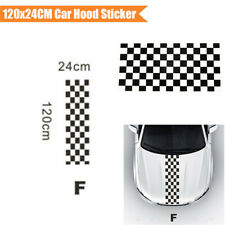 120CM Car SUV Hood Engine Cover Racing Vinyl Decal Decoration Sticker Waterproof