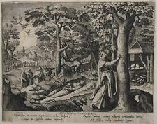 Adrian Collaert/ M.deVos; Sophronia von Tarent um 1600