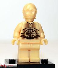 Lego ® Star Wars, minifigura, figuras, sw010, c-3po, 4475, 4504, 7106, 7190