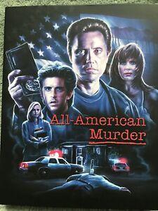 All American Murder Blu Ray W Slip Vinegar Syndrome Region Free