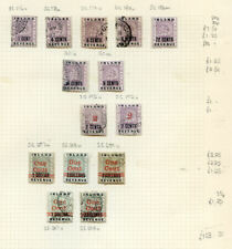 British Guiana 1888-99, 3 page run of mint, used and a variety (2020/03/31#02)