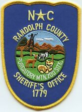RANDOLPH COUNTY NORTH CAROLINA NC SHERIFF POLICE PATCH