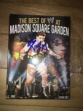 WWE: SIGNED RVD The Best of WWE at Madison Square Garden (DVD, 2013, 3-Disc Set)