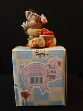 Enesco This Little Piggy I Shouldn't Hog All These To Myself 1996 With Box
