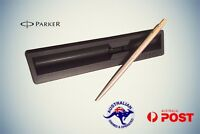 PARKER Classic Slimline GT Blue Ball pen Brand New With box Stainless Steel