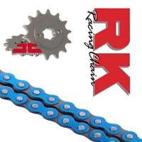 Yamaha YZF-R125 Chain and Sprocket Kit Blue RK Racing JT Sprockets 2008-16