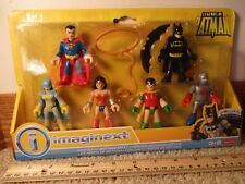Fisher Price Imaginext Heroes of Gotham Captain Atom Batgirl Robin cape Batman