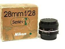 Nikon Series E 28mm f/2.8 AiS Manual Focus Lens