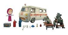 masha playset ambulanza con accessori
