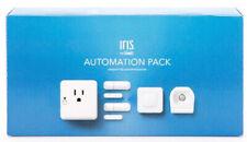 Iris Home Automation Pack 9404-L Contact Motion Sensor Smart Plug Button