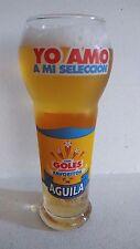 1994 VASOS SELECCION COLOMBIA CERVEZA AGUILA MUNDIAL WORLD CUP GLASSES usa glass