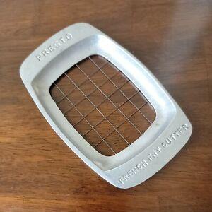 French Fry Cutter Presto Vintage Cast Aluminum Potato Slicer Utensil USA