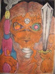 Local Art- Inspired- Eddie from Iron Maiden
