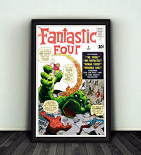 11x17 Fantastic Four #1 Comic Book Cover Replica Poster Print Marvel Stan Lee