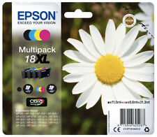 Epson Original Cartuchos de Tinta XL T18 Multipack Home Expression XP 322 325