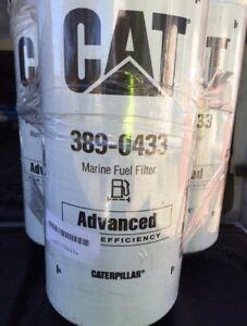 Genuine CAT 389-0433 Fuel Filter