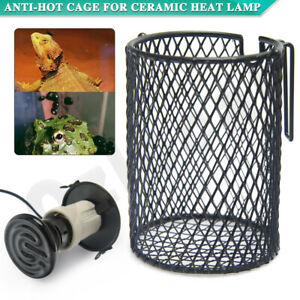 Ceramic Holder Anti-Hot Cage Heat Lamp Reptile Light 100W Switch Chicken Brooder