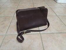 VTG COACH SUTTON CLASSIC BROWN LEATHER  SHOULDER BAG 9814