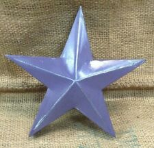 Handmade Metal Industrial Purple Retro Rustic Shabby Chic Hanging Star SU1165