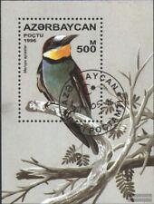 Aserbaidschan Block23 (kompl.Ausg.) gestempelt 1996 Singvögel