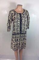 ANGIE Batik Boho Dress Women's Large