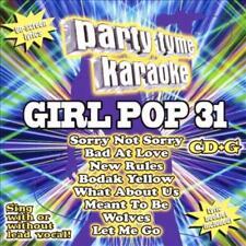 KARAOKE - PARTY TYME KARAOKE: GIRL POP 31 NEW CD